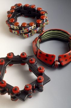Corning Museum of Glass - Bracelet series: mechanical, water melon - Haskins, Molly Vaughan, 1951