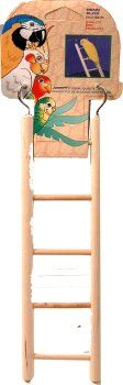 PenPlax BA105 5Step Wooden Ladder for Small Birds *** Click on the image for additional details.