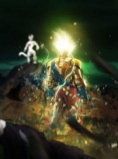 Iron Super Saiyan Goku.