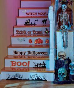 Halloween Stair Decals|ABC Distributing