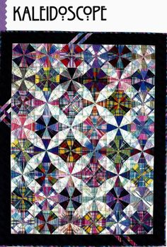 Kaleidoscope Patchwork Quilt Pattern - This Cozy Kaleidoscope Patchwork Quilt Pattern wallpapers was upload on November, 14 2 Star Quilts, Scrappy Quilts, Quilt Blocks, Circle Quilts, Batik Quilts, Vintage Quilts Patterns, Patchwork Quilt Patterns, Quilting Patterns, Quilting Projects