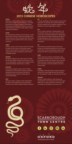 Didn't get your 2013 Chinese Horoscope yet? Check it out here: https://www.alignedsigns.com/blog/INFOGRAPHIC-What-will-the-Year-of-the-Water-Snake-mean-for-you.htm @Aligned Signs #Chinese_New_Year #horoscopes #2013