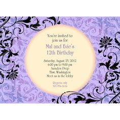 Check out Evil Heirs Personalized Invitation (Each) - Custom Invitations and Personalized Party Supplies from Birthday In A Box