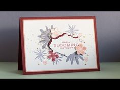 How to Brayer With Stamp Paint for Papercrafting & Cardmaking - Heartfelt Creations - YouTube
