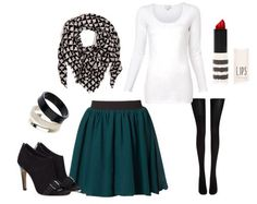 Cute outfit for preteens love skirt