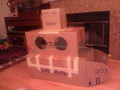 Turn a box into a submarine - Google Search