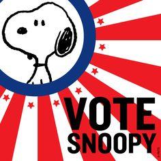 Vote Snoopy!!!