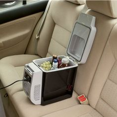 Now transporting food in your vehicle has become much easier with this handy personal fridge and warmer!