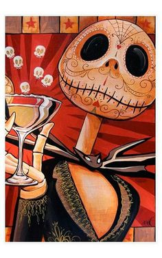 Jack Skellington Sugar Skull