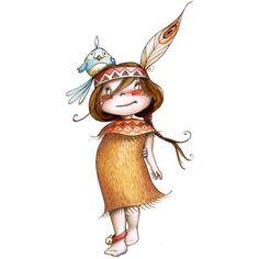 tubes bd personnages divers - Page 6 Art And Illustration, Illustration Mignonne, Art Fantaisiste, Art Mignon, Dibujos Cute, Whimsical Art, Cute Art, Art For Kids, Cute Pictures