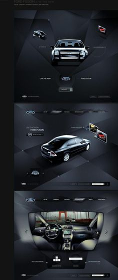 Web / Ford web design
