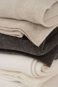 andrew morgan blankets - cashmere/merino