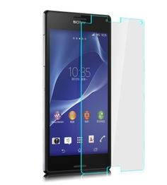 iProtect Screen Protector Tempered Glass Hartglas Schutzfolie für Sony Xperia Z3 Compact Display Schutzglas 0,3mm