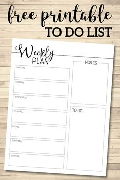 Weekly Planner Template Free Printable – Paper Trail Design – home diy organizations Planner Free, Weekly Planner Template, Planner Tips, Templates Printable Free, Printable Paper, Free Printables, Schedule Templates, Week Planer, Student Planner Printable