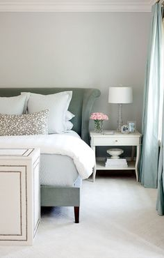 Bed side table decor