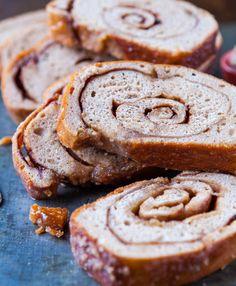 Cinnamon Swirl Bread from @Averie Sunshine {Averie Cooks}