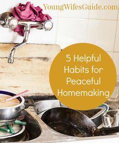 Helpful homemaking h