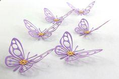 Purple Butterflies, Purple wall art, Paper butterflies, 3d Butterfly wall art, Nursery ideas, Kids wall decor, Lavender Butterflies by MyDreamDecors on Etsy https://www.etsy.com/listing/185158199/purple-butterflies-purple-wall-art-paper