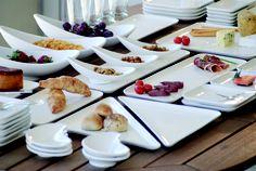 Orilla Stoneware Tableware by Ajidesign