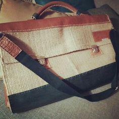 #borsa #uomo #man #tote #bag #juta #leather #pelle #cuoio #fattaamano #madeinitaly #handmade #handcrafted