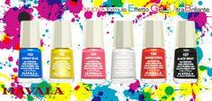 Ecco i fantastici sei della Techni Color's Collection! Super brilantezza ed effetto gel!