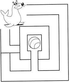 Free Printable animal Mazes for kids Logic Games For Kids, Fun Worksheets For Kids, Mazes For Kids, Kindergarten Math Worksheets, Activities For 5 Year Olds, Preschool Learning Activities, Infant Activities, Maze Drawing, Maze Worksheet