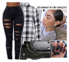 """""""⚫️⚫️⚫️"""" by wavyjai ❤ liked on Polyvore featuring Polo Ralph Lauren, Givenchy and Timberland"""