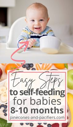 How we started blw and self-feeding with my 8 month old. All the foods that he was eating at 8 months old - first food ideas - beginnger blw food ideas. Start here if your baby has started with baby-led weaning and you are looking for food ideas! #blw #firstfood #babyfood Baby Self Feeding, Baby Feeding Schedule, Baby Schedule, 8 Month Old Baby, Baby On A Budget, Healthy Toddler Meals, Food Ideas, Meal Ideas, Baby Led Weaning