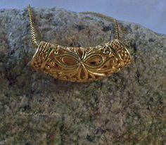24 K Gold Vermeil Sterling Silver Bali Filigree Slide Pendant Bali Jewelry Bali Jewelry, Jewelry Ideas, Diy Jewelry, Fashion Jewelry, 24k Gold Jewelry, Diamond Are A Girls Best Friend, Toe Rings, Ankle Bracelets, Filigree