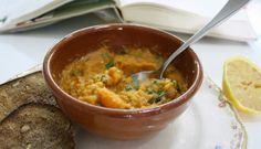 My way through cooking: Red lentil two ways: soup and dip. A bonding is bo...
