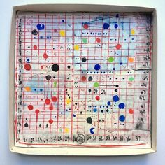 One of Shane Drinkwater 's rarer series of works are these paintings in the bottom of boxes, which I love for their recycled, cobbled q...