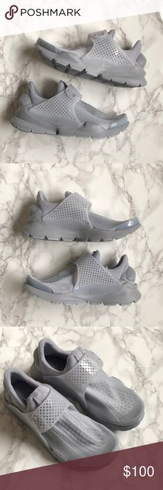 NWT Nike Sock Dart Wolf Grey KJCRD Nike Sock Dart in color wolf grey. Men's size 8 women's size 9.5. New never worn and comes with box.  This unique color way is rare and sure to impress. Nike Shoes Sneakers