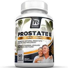 BRI Prostate8  Prostate Health Formula With Vitamins and Minerals  Potent Urinary Function Supplement  90 Count Vegetarian Capsules >>> Click on the image for additional details. Note: It's an affiliate link to Amazon.
