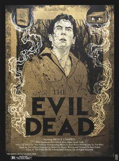 """kogaionon: """"The Evil Dead by Philipp Banken / Blog / Behance / Twitter / Society6 / Store """""""