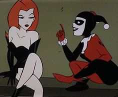 I'd like to hear that conversation Cartoon Icons, Girl Cartoon, Cute Cartoon, Cartoon Art, Cartoon Characters, Harley Quinn, Joker And Harley, Gotham Girls, Poses References