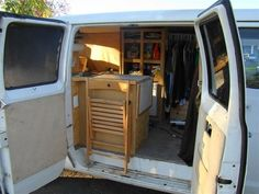 Cheap RV Living.com-Steve's Van Conversion