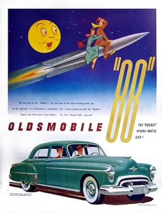 1959 Oldsmobile Rocket 88 Ad.