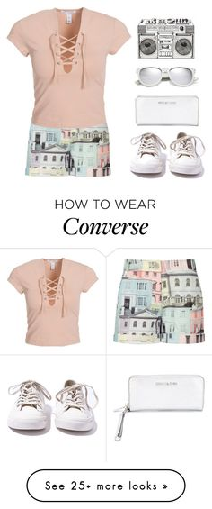 """""""Lumen"""" by snowflake-city on Polyvore featuring Ted Baker, NLY Trend, MICHAEL Michael Kors, Yves Saint Laurent and Converse"""