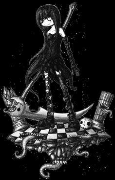 Lady Death Whisper by DemiseMAN.deviantart.com on @deviantART