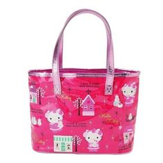 Hello Kitty Lunch Tote Bag - Choose One   eBay   HELLOkitty ... 8e76c90e7c