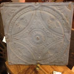 Vintage Tin Ceiling Tile Old ceiling tile in very good condition Other