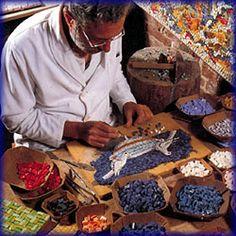MosaicSmalti.com - authentic traditional Italian Smalti and mosaic gold.  Great source of Italian smalti of all kinds.