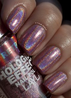 A Polish Addict - interesting holographic polish.  May order a bottle to try.