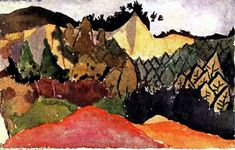 In the Quarry by @artist_klee #expressionism