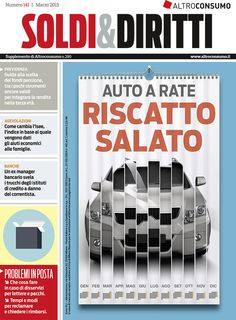 Soldi&Diritti n. 141, gennaio 2015: nuovo Isee, reclami alle poste, auto a rate...
