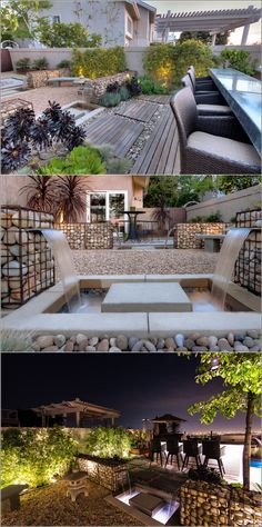Use Gabions to Decorate Your Outdoor Area