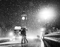 London when it Snows: Big Ben and Lovers by Kayode Okeyode taken in London, England (Commended in Living the View category and Calumet 'This Is Britain' Award Winner)