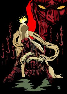 HellBoy In Hell by nic011.deviantart.com on @DeviantArt
