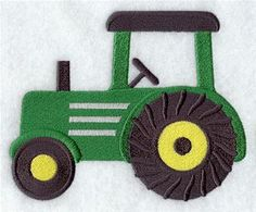Machine Embroidery Designs at Embroidery Library! - Tractor Alphabet