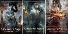 The Infernal Devices book series: Clockwork Angel, Clockwork Prince, and Clockwork Princess. Ave Atque Vale Will Herondale I Love Books, Great Books, Books To Read, Amazing Books, The Infernal Devices, Up Book, Book Nerd, Clockwork Princess, Kindle